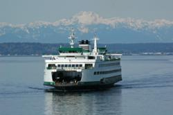 WSDOT's Jumbo Mark II class ferry the M/V Wenatchee.